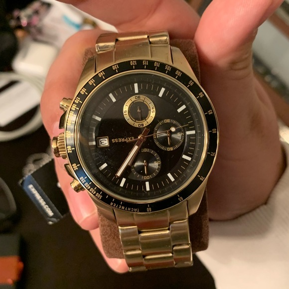 Express Other - Gold plated working express watch
